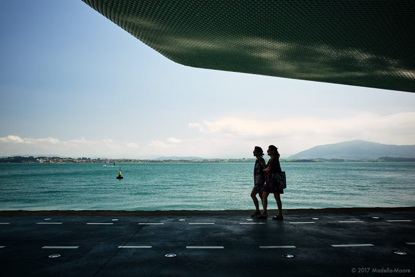 Two women, Santander. Leica M typ 262 with 28mm f2 Summicron.