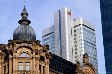 Old and new buildings, Frankfurt