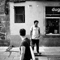 Street Scene, Barcelona.