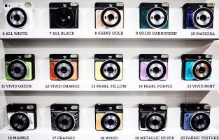 Fuji Instax cameras, demonstrating the power of marketing over innovation.