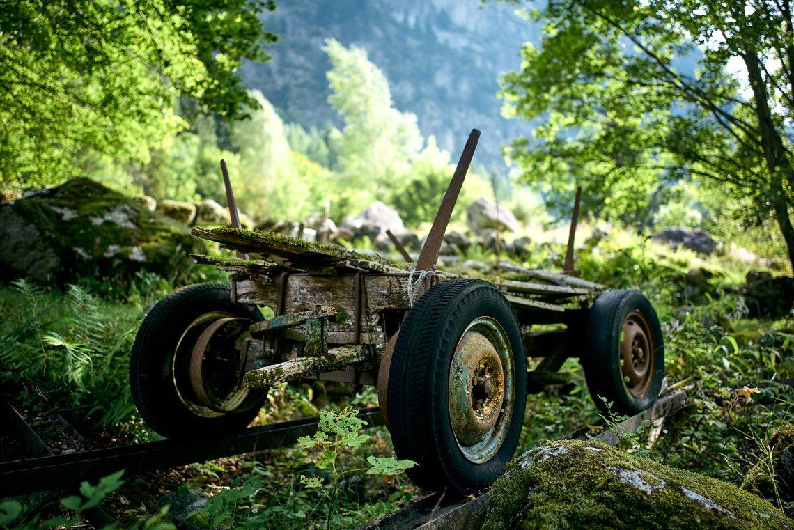 Transport, Vall di Mello.