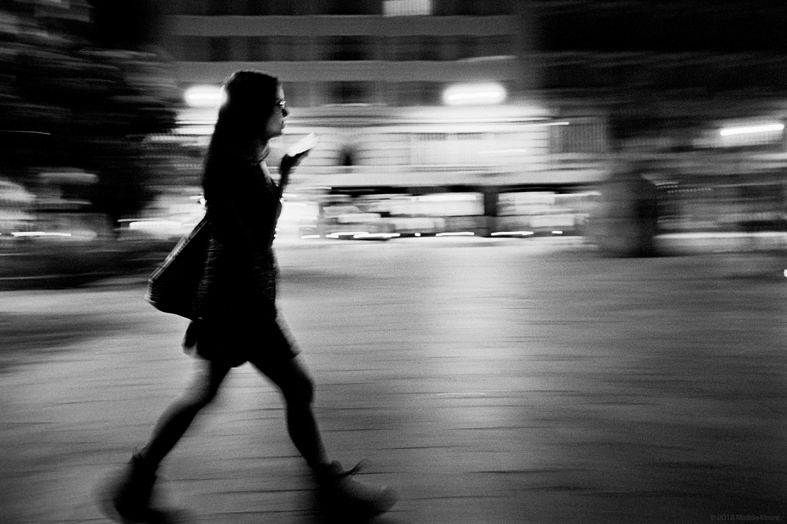 Nighttime Street Photography in Barcelona on Film